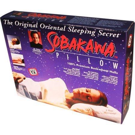 As Seen on TV Sobakawa Buckwheat Hull Pillow, Queen Size