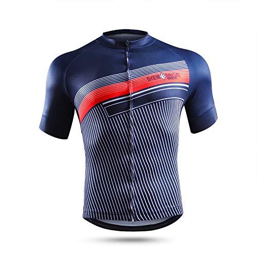 NEENCA Men's Cycling Bike Jersey...
