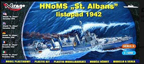 Mirage Hobby 40609, 1: 400 échelle, Destroyer - HMS St Albans '', kit de modèle en plastique