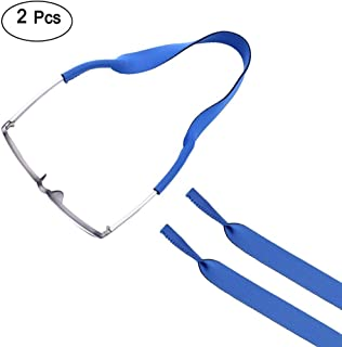 ewinever(R) 2PCS sports Glasses Strap Retainer Cord Chain Eyeglasses Lanyard String