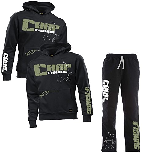 HOTSPOT DESIGN Set Carpfishing, Hoody + Hose, Gr. XL, HOTSETMEN1XL
