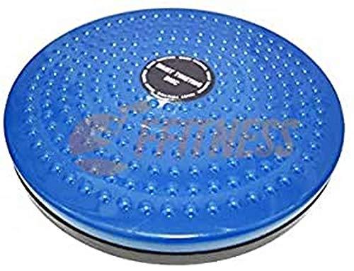 Fitness FFitness Waist Twister, Disco per la Torsione del girovita Unisex Adulto, Blu, Unica