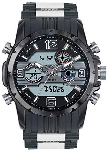 腕時計 軍事腕時計 アナデジ表示 1906 メンズ