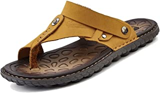 [LuckyDays-JP] メンズ トングサンダル ビーチサンダル ぞうり スリッパ フラット オフィス コンフォート カジュアル 靴 ファッション シンプル オシャレ リラックス 軽い 柔らかい 海 プール リゾート イエローオーカー