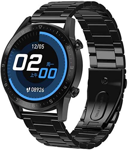 TYUI Reloj Inteligente Hombres Bluetooth Llamada Regalo Moda IP67 Impermeable Frecuencia Cardíaca Presión Arterial Oxígeno Deportes Hombres Smartwatch-C
