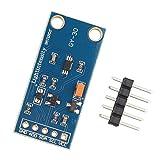 HALJIA, GY-30 BH1750FVI modulo sensore digitale di intensità della luce Compatibile con Arduino AVR 3V-5V.