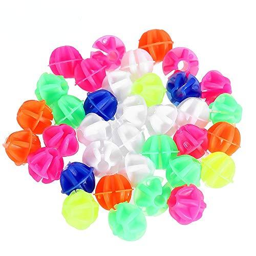 108 Piezas Bicicleta Bolas Decoración, Rueda de Bicicleta Habló de Plástico Colorido Perlas Clip, Accesorios de Decoración de Bicicletas para Niños