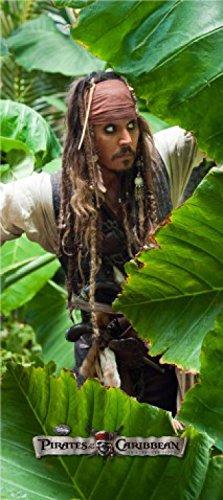 1art1 Fluch Der Karibik - Jack Sparrow, Dschungel Fototapete Poster-Tapete 202 x 90 cm