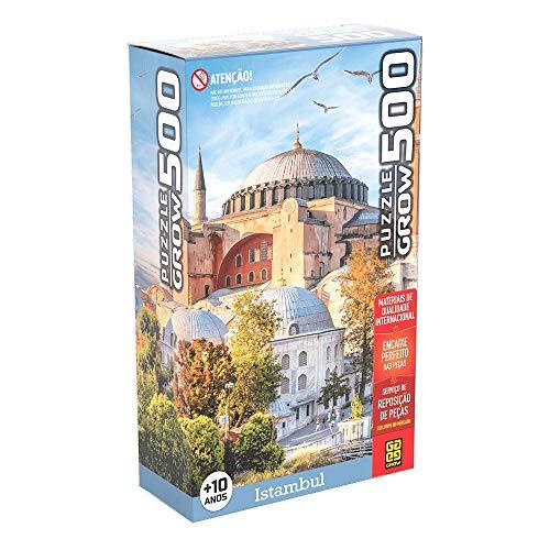 Quebra-Cabeça, Istambul, Grow, 500 Peças