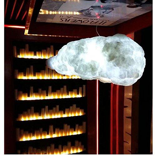 Lustre créative,Lustres nuage led bar café bar lampe vêtements magasin décoration nuages simple art fashion design lustre de plafond-A