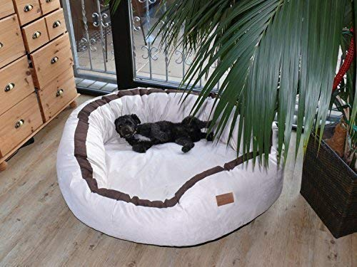 tierlando Lana Hundebett Hundesofa M L XL Velours MEGA DICK 80 100 120cm WEICH Größe:...