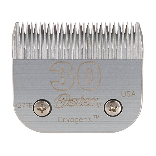 Compatible with Wahl Clipper #30-15-10 Caremic Blade Set Substitute #1037-400 BESTBOMG Lames de Tondeuses Animal Standard Replacement Blades Trimmer Clipper Blades for Wahl 1006 Substitute Argent-1
