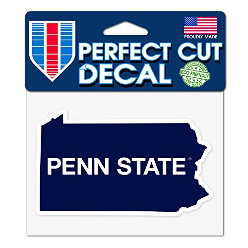 WinCraft Penn State Nittany Lions 4 x5  Perfect Cut State Decal