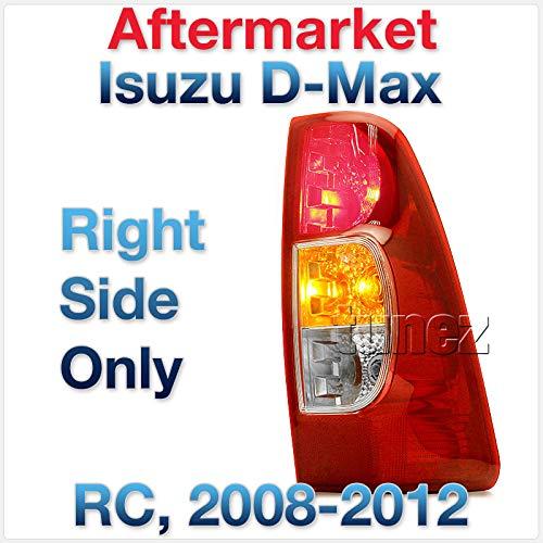 Nouveau côté droit arrière Feu arrière lampe pour D-Max RC 2008–2012 UTE de remplacement