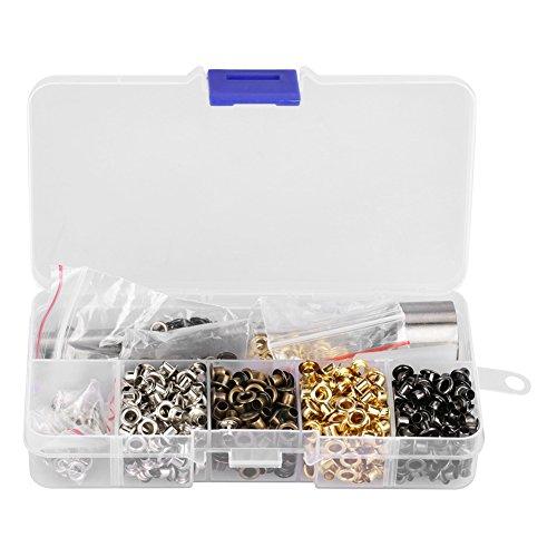Tüllen Ösen Kit, Ösen für Tüllen Ösen und Unterlegscheiben, 220/420 Sätze, zum Ersetzen von Zubehör(3mm*420)