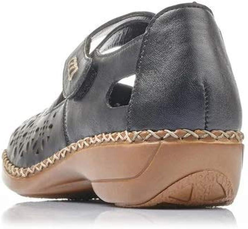 Rieker Ladies Casual Cut Out Shoes 413J0