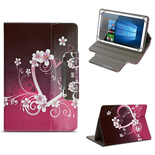 NAUC Schutzhülle kompatibel für Archos 101 Platinum 3G Tablet Tasche Hülle Hülle Cover Stand Etui Bag, Farben:Motiv 7