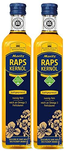 Moritz - Rapskernöl kaltgepresst - 2 mal 500ml
