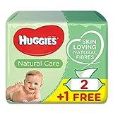 foto Toallitas Bebé Huggies Natural Care P3 (2+1 Gratis)