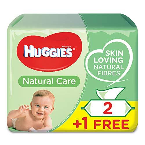 Toallitas Bebé Huggies Natural Care P3 (2+1 Gratis)