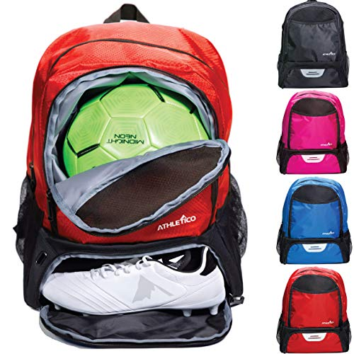 Athletico Youth Soccer Bag - Soccer Backpack & Bags for Basketball,...