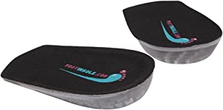 Gel Shoe Heel Pads - 0.4 Inches Gel Height Increase Insoles, Medical Achilles Tendonitis For Women