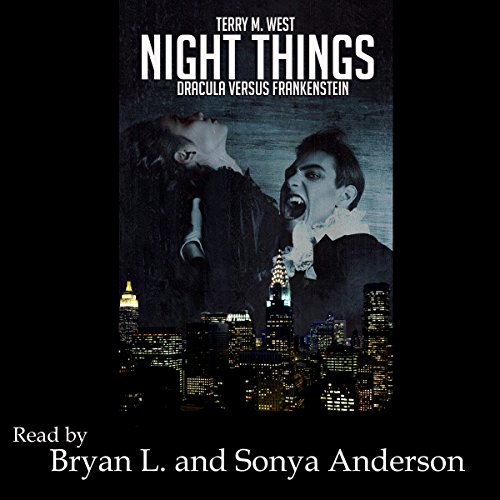 Night Things audiobook cover art