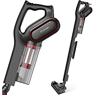 Vacuum Cleaner, Bagless Upright Vacuum Cleaners,600W 15Kpa Corded 2 in 1 Hand held Lightweight Stick Vacuum with HEPA Filtration For Pet Dog Cat Hair Floor Cleaning:Comoparardefumar