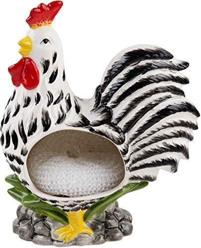 Farmhouse Decor Kitchen Sink Scrubby Holder Ceramic