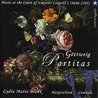 Gottweig Partitas: Lydia Maria Blank(Cemb)