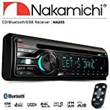 Nakamichi na205Bluetooth単一DIN CD USB AUX車ラジオステレオ