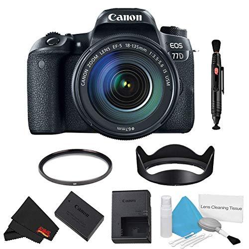 Buy Canon EOS 77D DSLR Camera with 18-135mm Lens Bundle (International Model)
