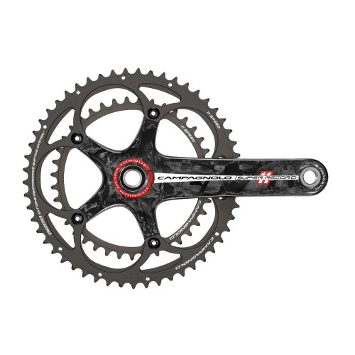 Campagnolo Super Record 11 V – Set de manivelle et Plateaux pour vélo
