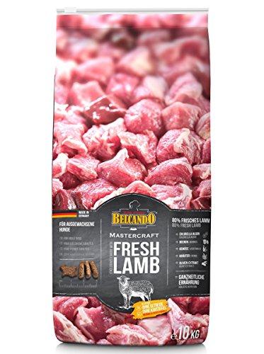 Belcando Mastercraft Fresh Lamb [10kg] Trockenfutter für Hunde | 80% Frischfleisch | Hundefutter getreidefrei mit Lamm | sortenrein | für alle Rassen
