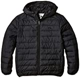 Quiksilver Scaly Youth-Abrigo Niños Negro Black (Anthracite) Talla:10 Years (Manufacturer Size: Small)