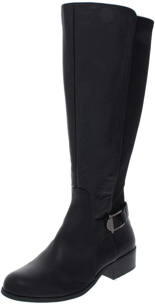 Alfani Womens Kallumm Closed Toe Mid-Calf Fashion Boots
