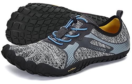 SAGUARO Scarpe Barefoot Minimaliste Uomo Donna Scarpe Multisport per Corsa/Allenamento/Trekking/Trail Running/Palestra/Camminata Scogli Sabbia Acqua - Morbido Comode...