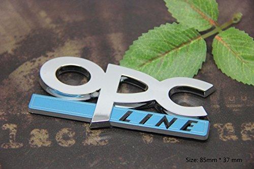 D435 Line auto aufkleber 3D Emblem Badge top Plakette Abzeichen car Sticker Abziehbild