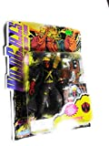 WILDCATS Covert Action TeamS 6 Inch Tall Action Figure - GRIFTER with Customized Kherubim Energy Blaster, Electro Discharge Pistol, High Powered Stun Bolt Rifle, HALO Communicator and WildC.A.T.S Battle Base Plus Special Edition Collector Card