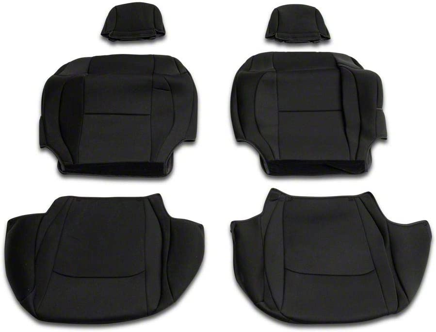 RED ROCK TruShield Custom Mail order cheap Fit Seat Wra in Jeep Fits Sale price Black Covers