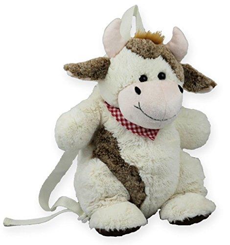 Inware 7200 - Kinder Rucksack Kuh, creme/braun/beige