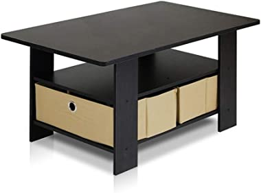 ZXMDP Table Basse Convertible rehaussable modulable Tactile connecté Smart Coffee ouvrante Opium bahut Noir laqué Tabla Salle