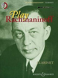 PLAY RACHMANINOFF CLARINETTE +CD