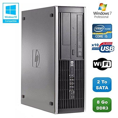 PC HP Compaq Elite 8100SFF Intel Core i56503.2GHz 8GB Gunmetal Brenner WiFi W7