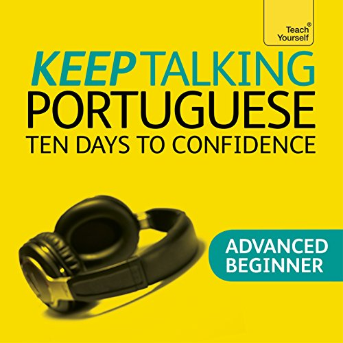Keep Talking Portuguese audiobook cover art