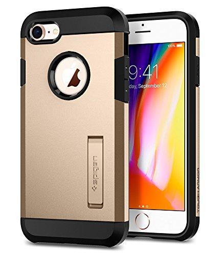 Spigen Tough Armor [2nd Generation] Designed for Apple iPhone 8 Case (2017) / Designed for iPhone 7 Case (2016) - Champagne Gold