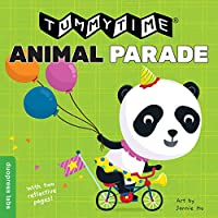 Animal Parade: Two Books in One, Each with Reflective Pages (Tummytime)