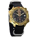 Vostok Komandirskie mecánico del ejército para hombre Militar Commander reloj de pulsera # 539792 (black)