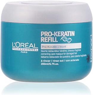 L'Oreal Paris Serie Expert Pro Keratin Refill Correcting Care Mask for Unisex, 6.7 Ounce