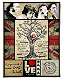 The Beatles There are Places I'll Remember Gift for Your Friends Fleece Blanket (60x80 Inches)